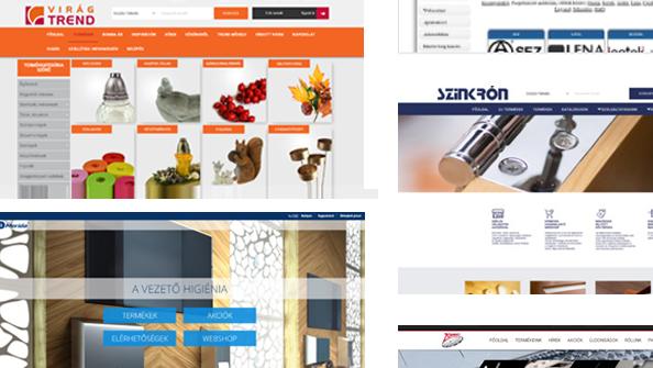 Vectory rendszerhez integrált webáruház referenciái