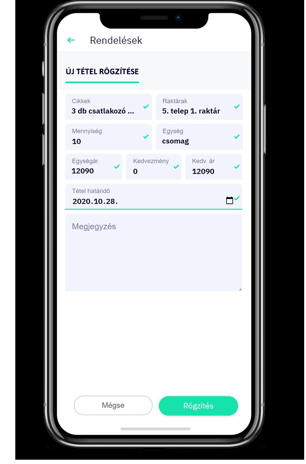 VAPP BIZZ: rendelések rögzítése és CRM a mobil applikáción keresztül
